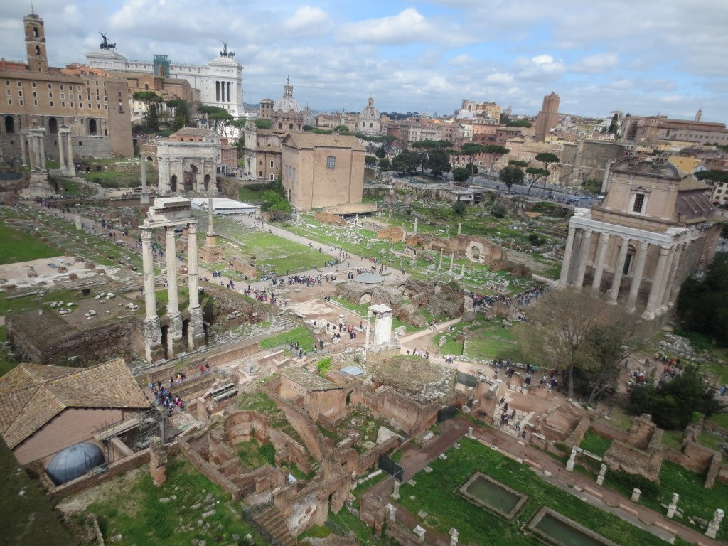Rome from Palatine Hill