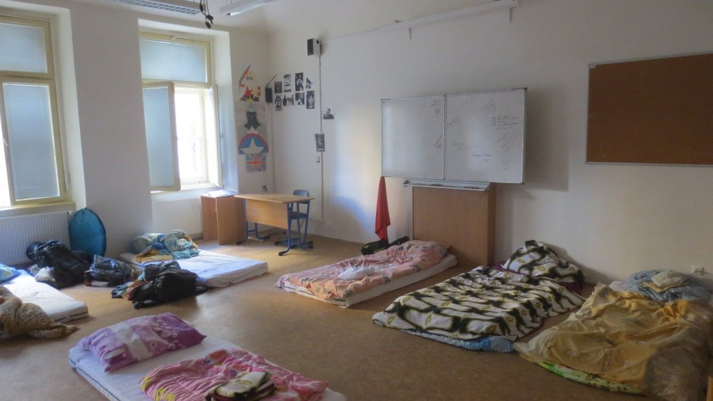 Budget Hostel School Room