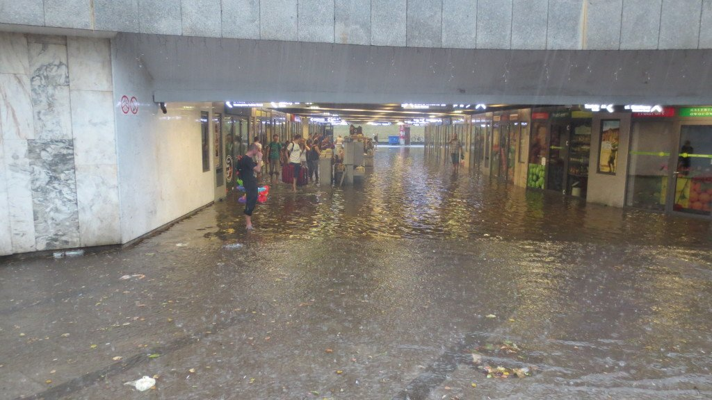 Flooded Underpass