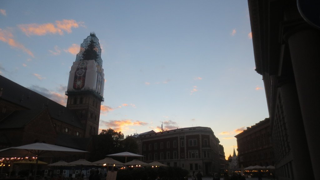Old Town at Sunset
