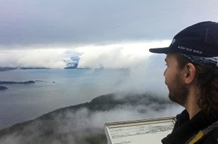 Selfie at Mt Constitution Lookout