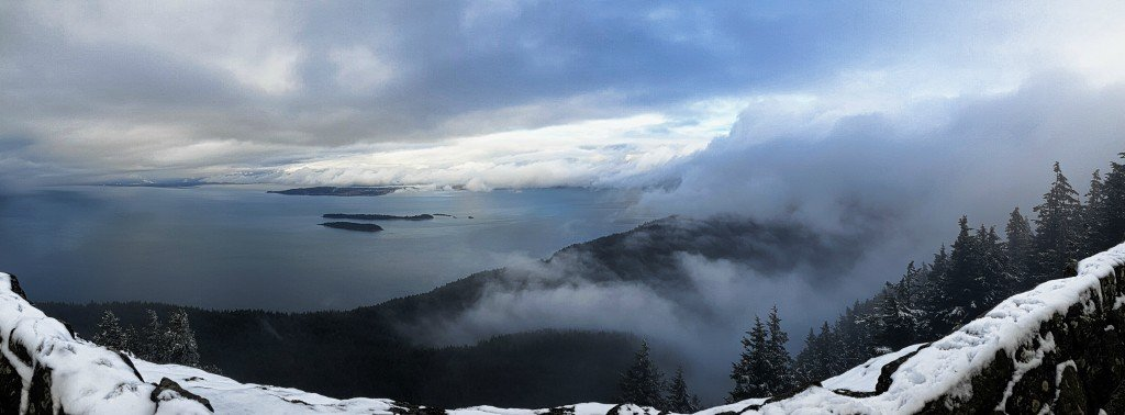 View from Mt Constitution Panorama
