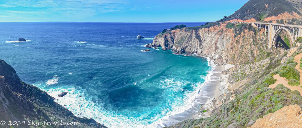 Big Sur Panorama on the PCH