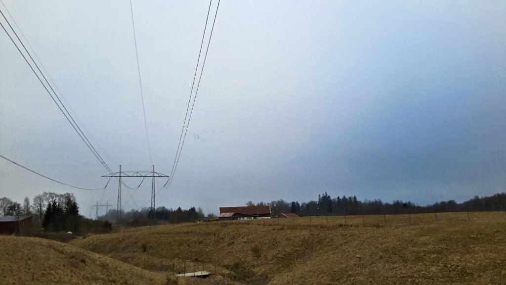 High-Voltage Cables on Workaway Property