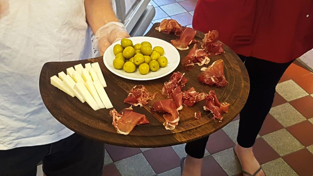 Sample Platter at Osterquist
