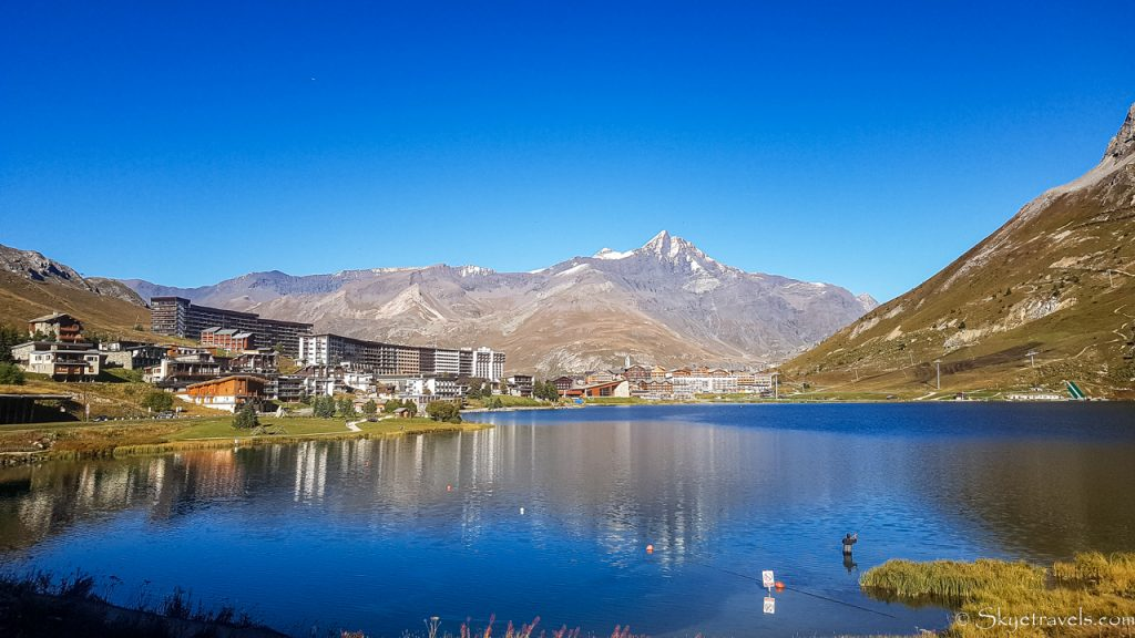 Tignes Relection on the Lake