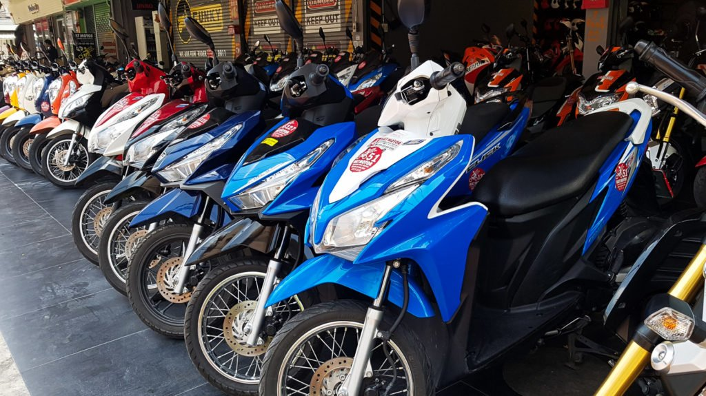 Motorcycle in Thailand