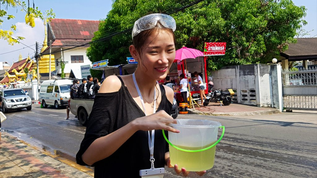 Water Bucket at Songkran
