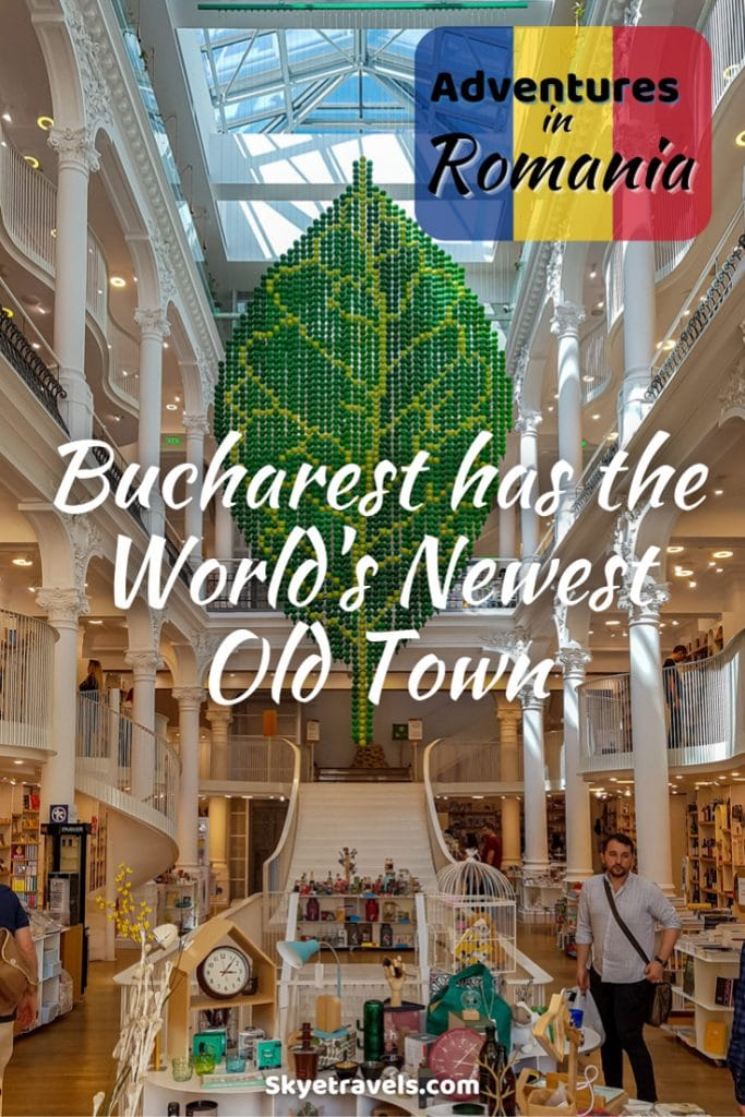 Bucharest Old Town Pin
