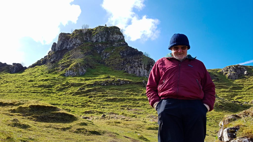 Dad at the Fairy Glen #2