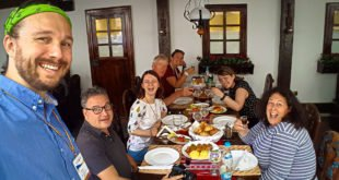 Selfie with Bucharest Food Tour at Vatra