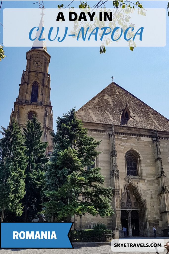 A Day in Cluj Pin