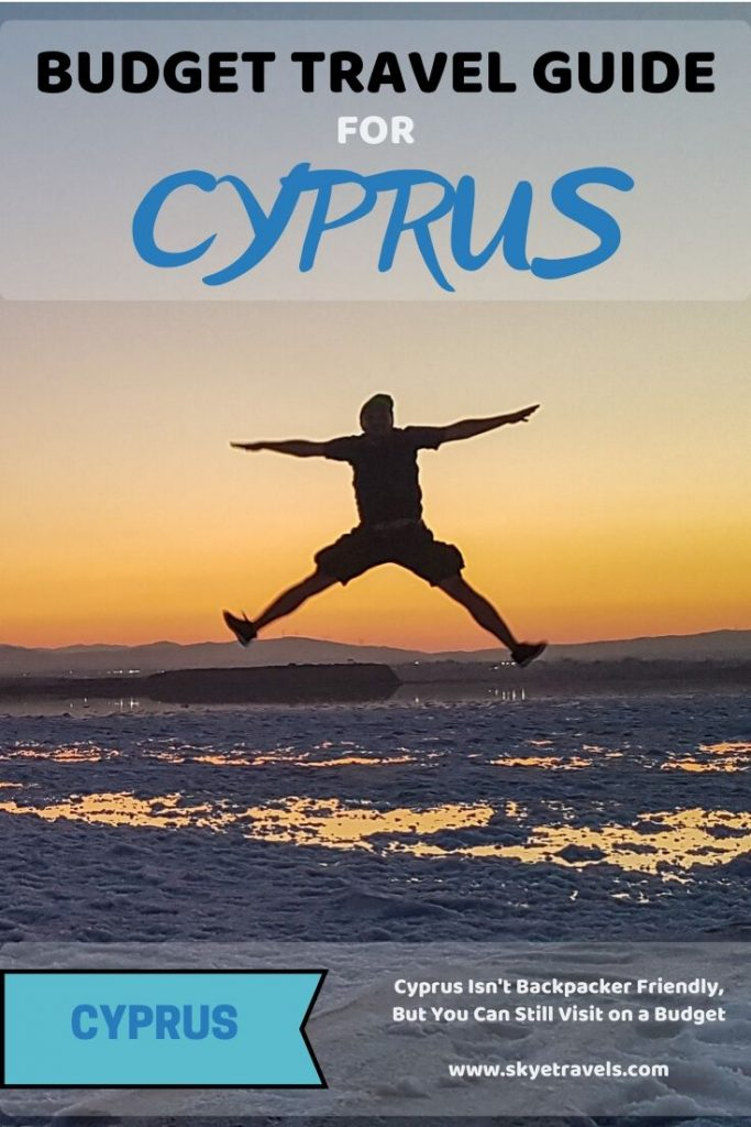 Budget Travel in Cyprus Pin