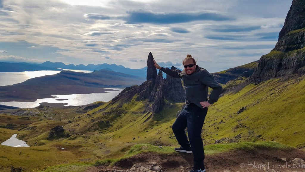 Selfie with Craghoppers at the Storr