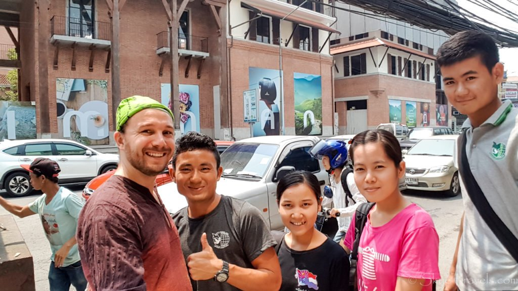 Selfie with TEFL Class in Chiang Mai
