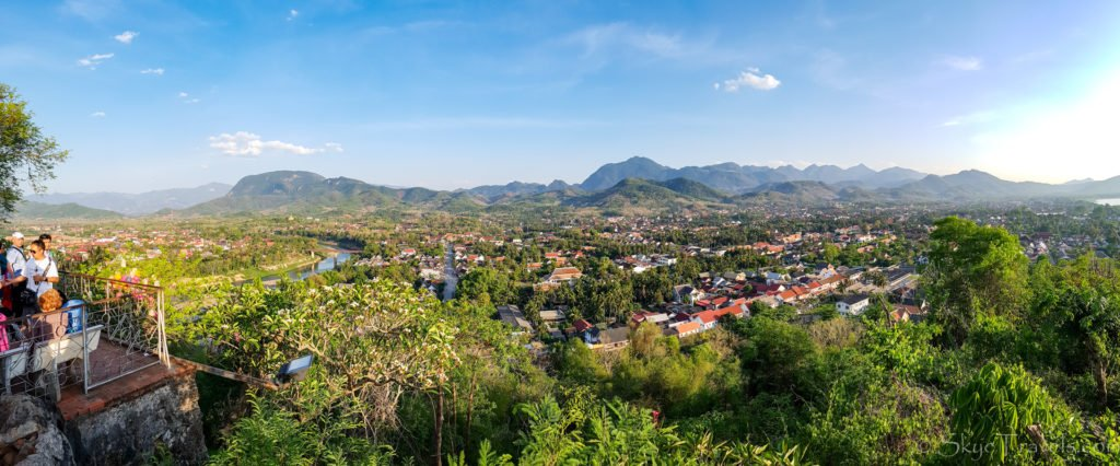 View from Mout Phousi