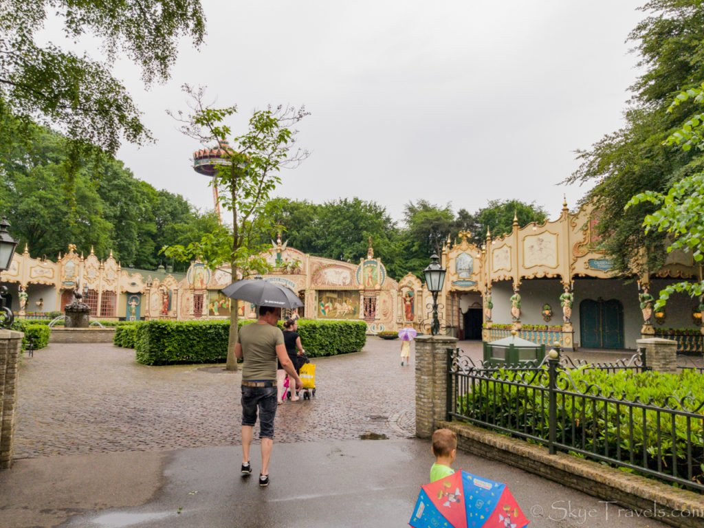Rainy Day in Efteling