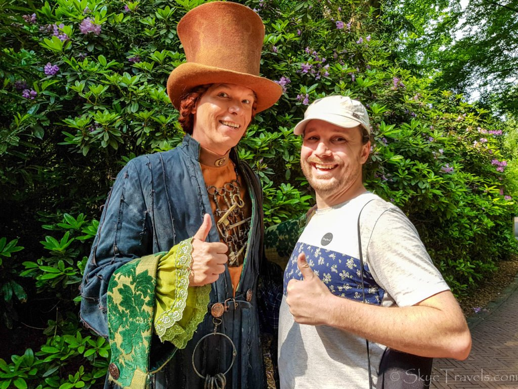 Selfie with Character in Efteling