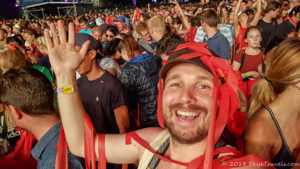 Selfie at Colours of Ostrava