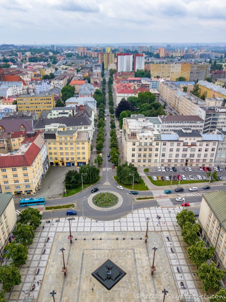 View from Ostrava New City Hall