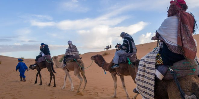 Getting Into Morocco (On Camels)