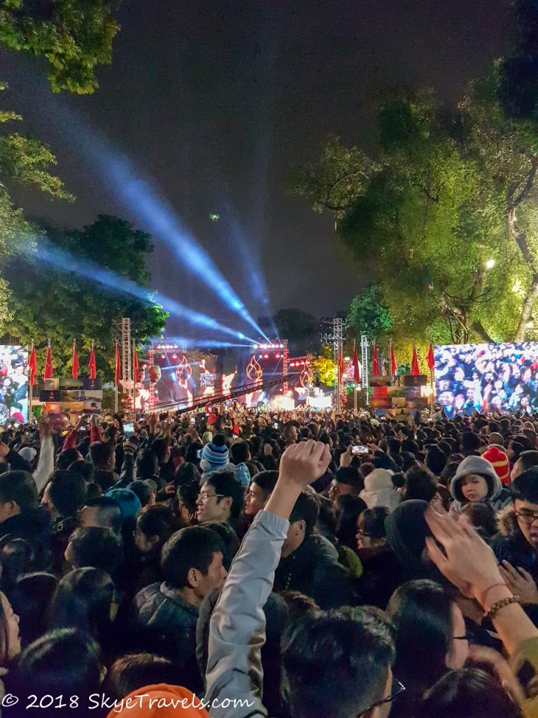 New Year's in Vietnam Party