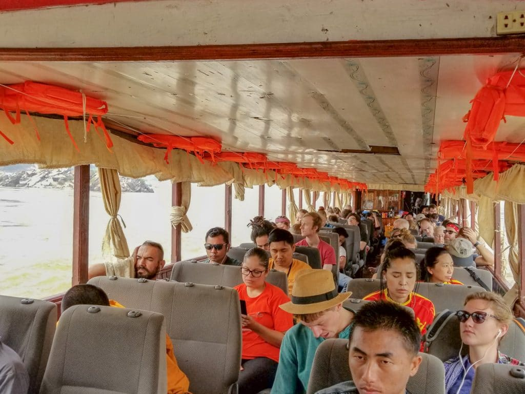 Crowd on the Slow Boat