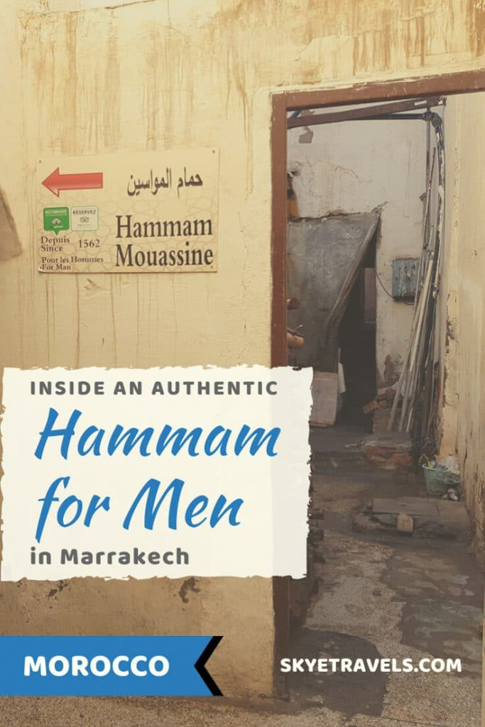 Inside a Hammam for Men Pin