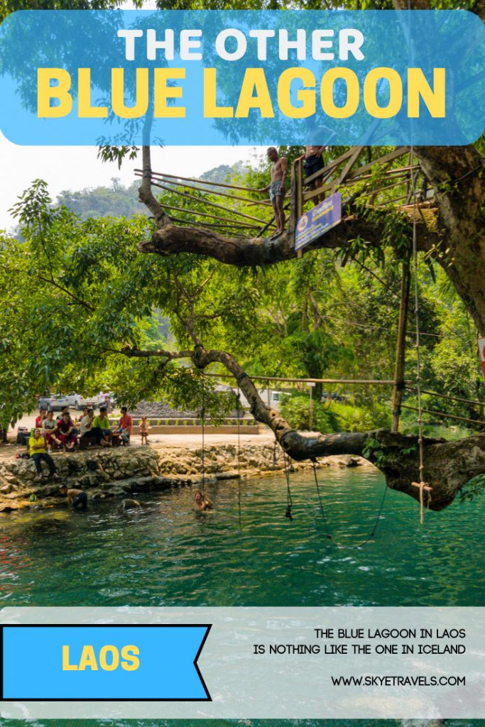 The Blue Lagoon in Laos is Nothing Like the One in Iceland 1