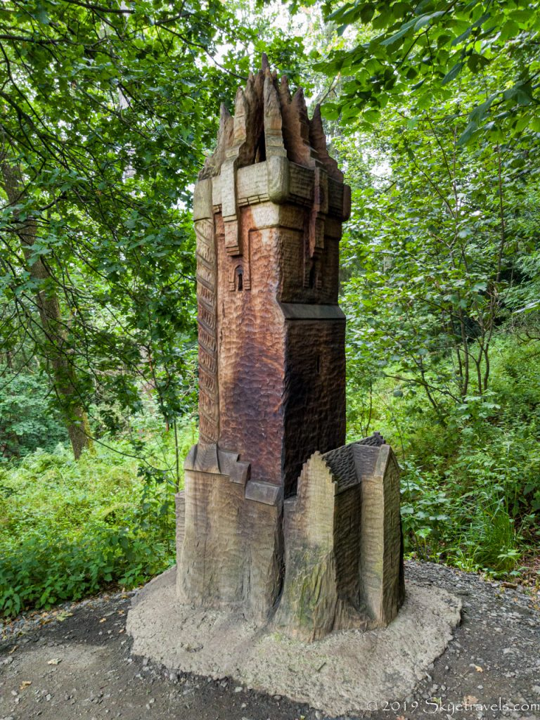 Wallace Monument Wooden Model