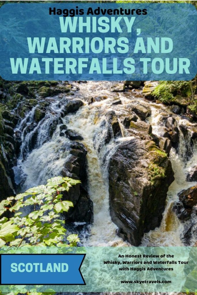 Whisky, Warriors and Waterfalls Tour Pin (1)