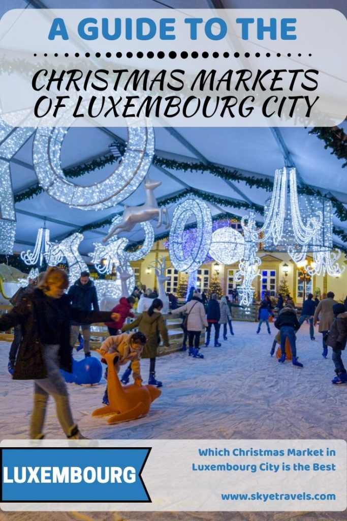 Christmas Market of Luxembourg Pin