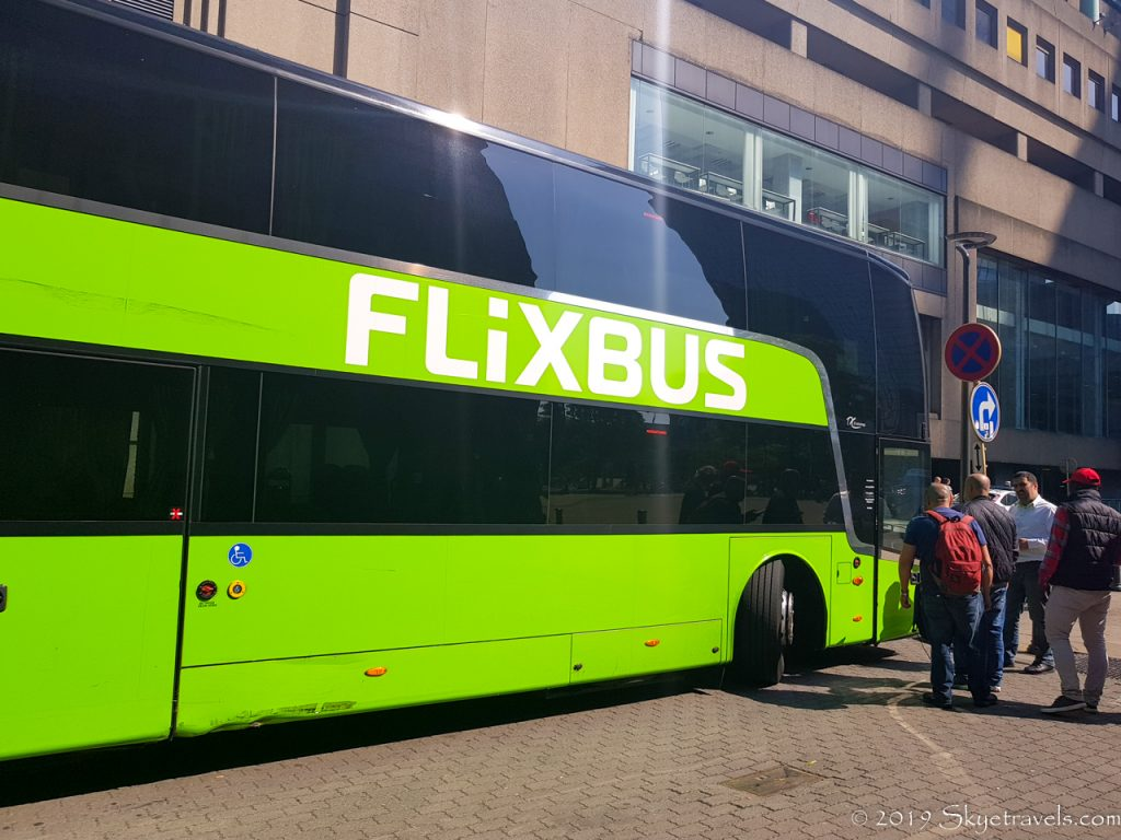 Crazy Flixbus Driver London to Brussels