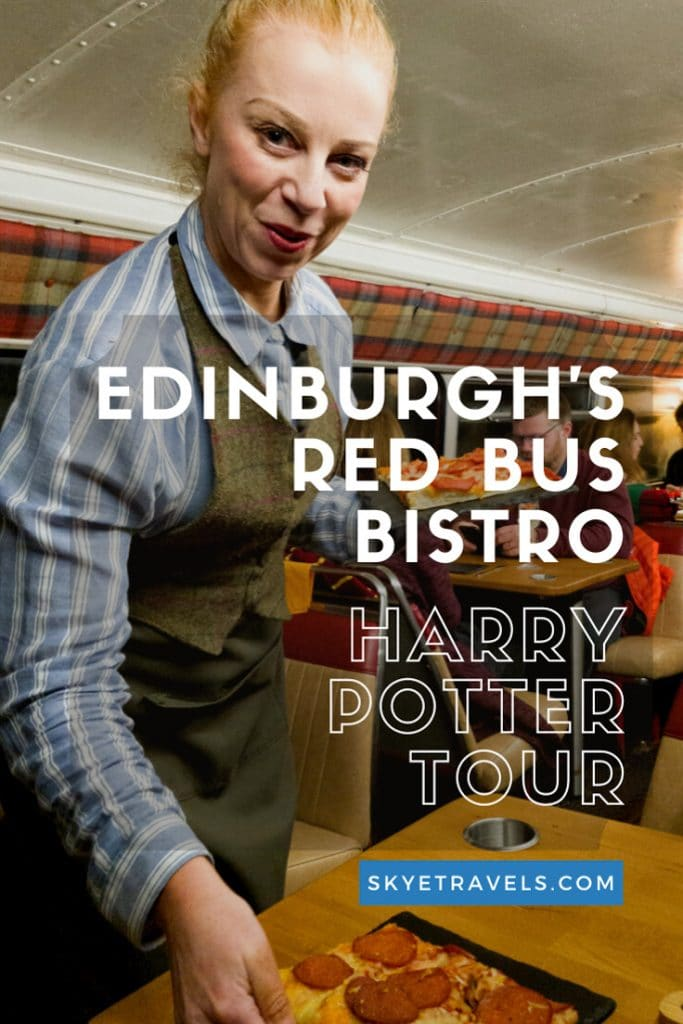 Bed Bus Bistro Harry Potter Tour Pin