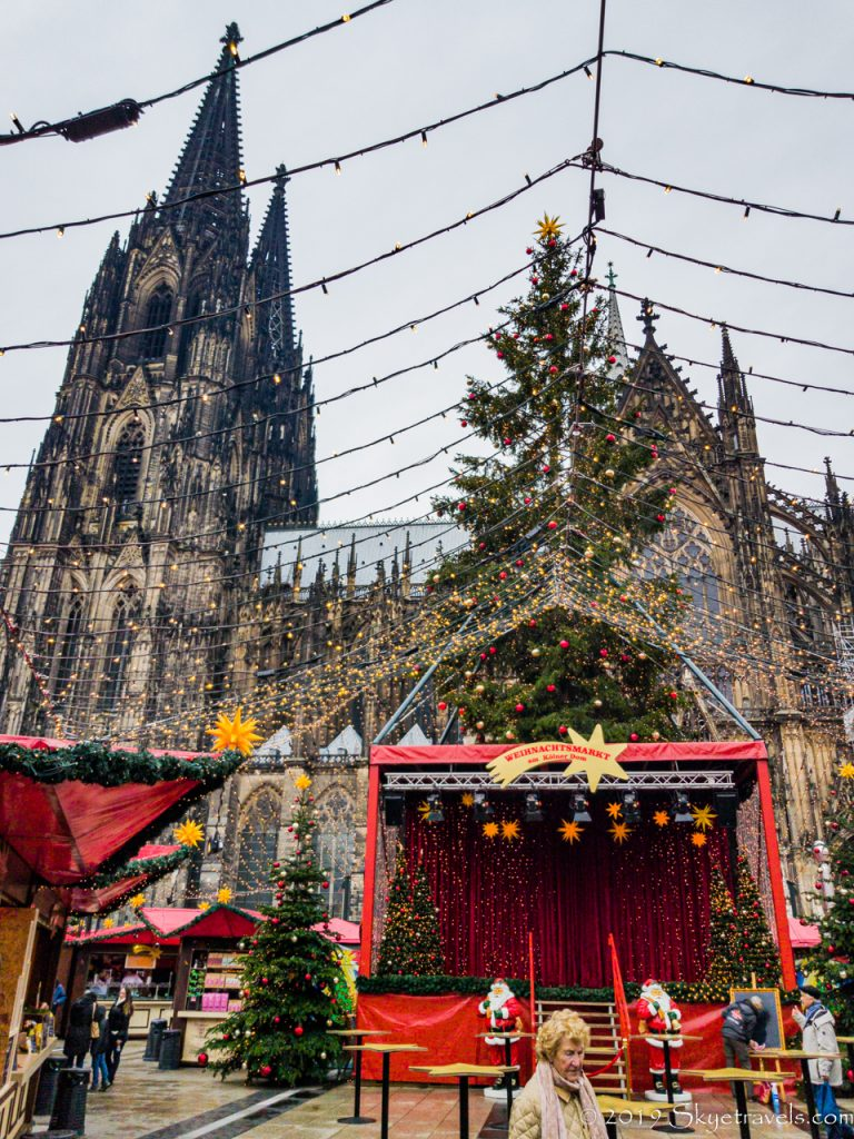 Cathedral Christmas Market in Cologne