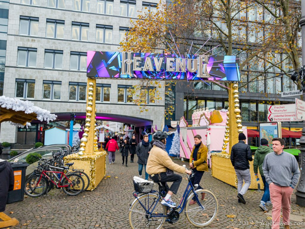 Heavenue Christmas Market in Cologne