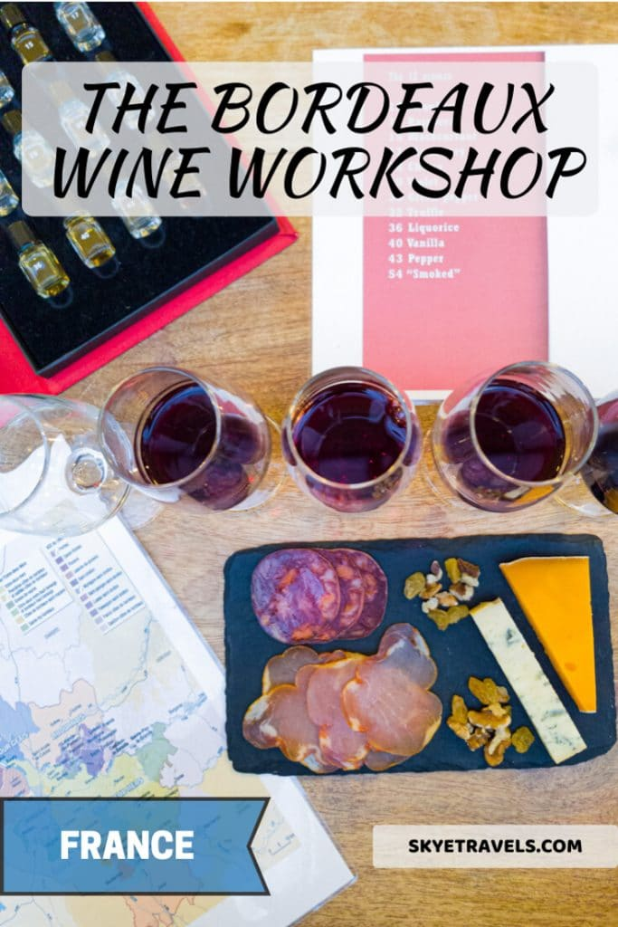 What a Bordeaux Wine Workshop is Really Like 2