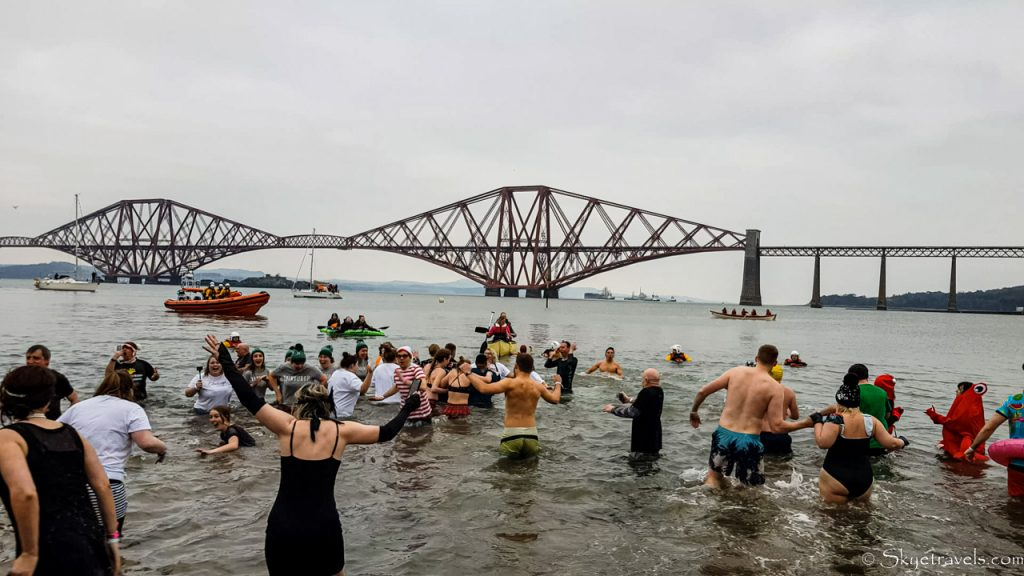 Crowd in the Water at Loony Dook 2020