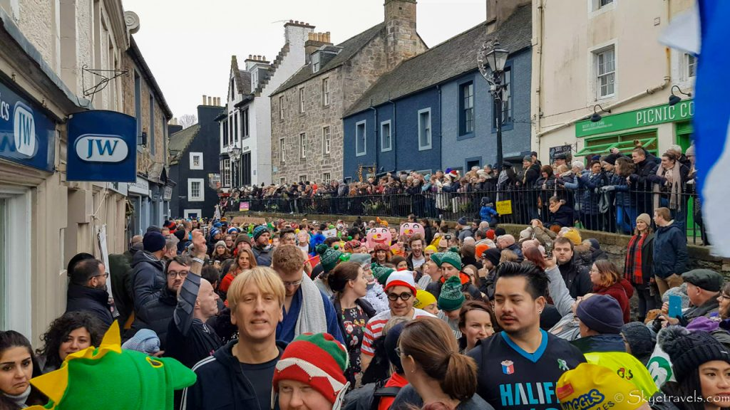 Parade and Crowd at Loony Dook 2020