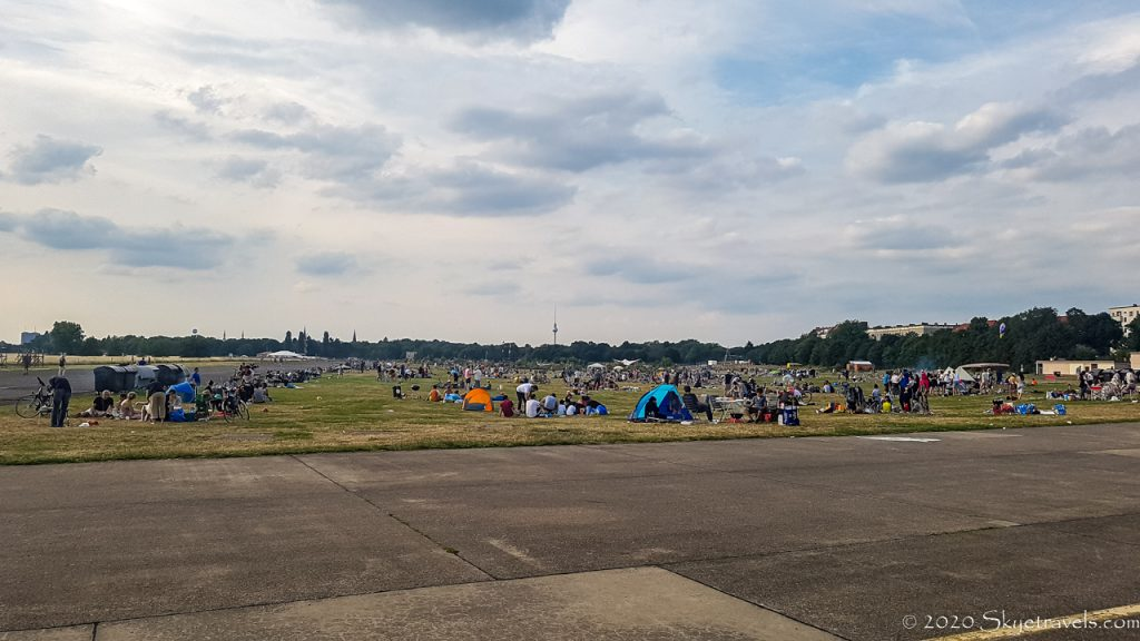 Tempelhoffer Feld in Berlin