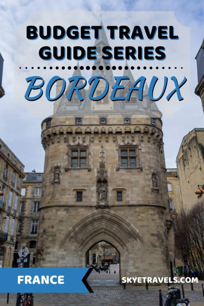 Backpacking in Bordeaux Pin