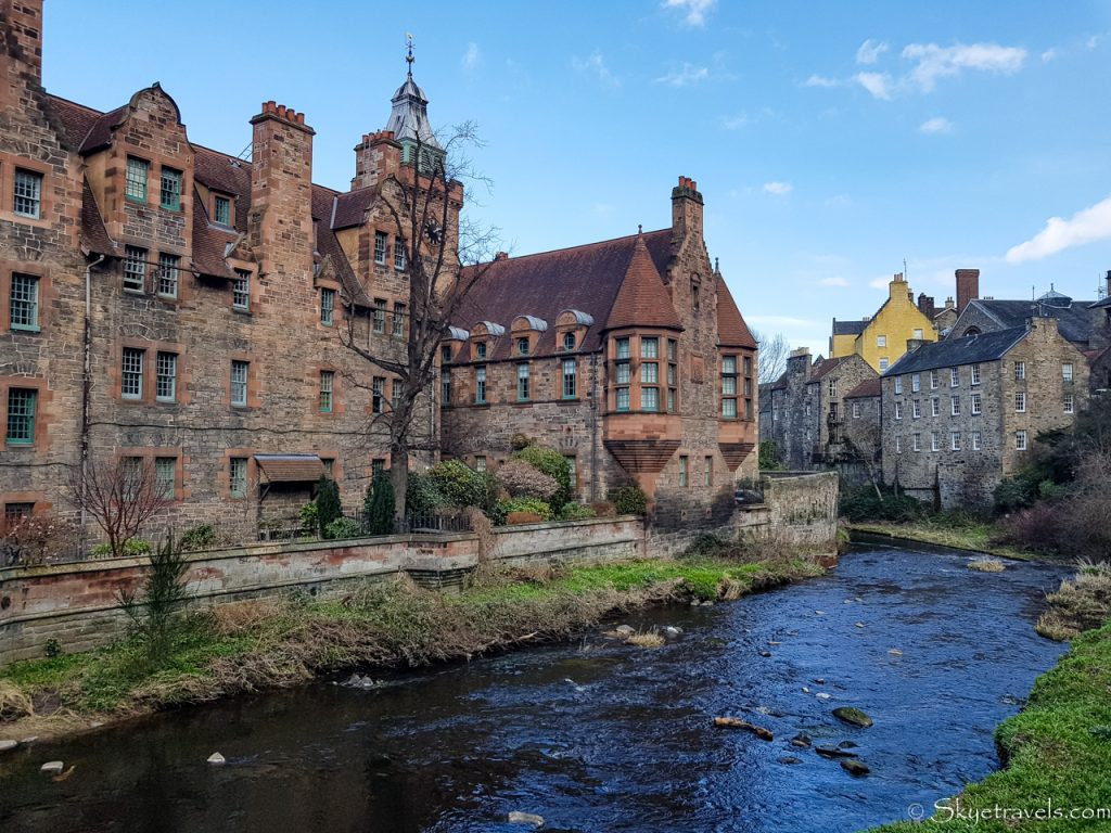 Dean Village on the Water of Leith