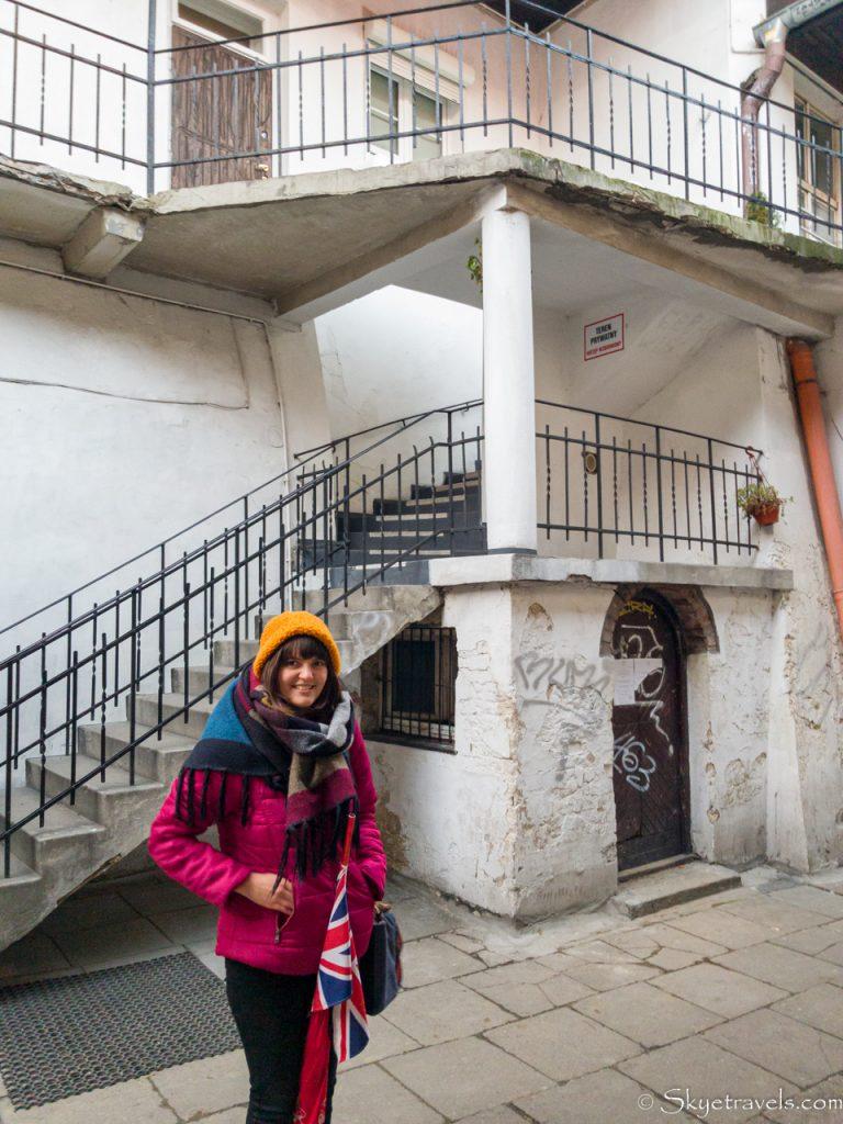 Schindler's List Stairs in Kazimierz