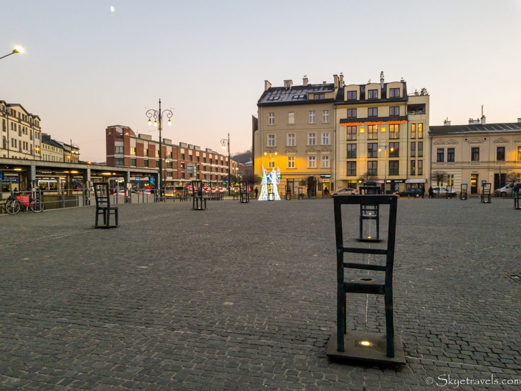 Square of Chairs in Krakow