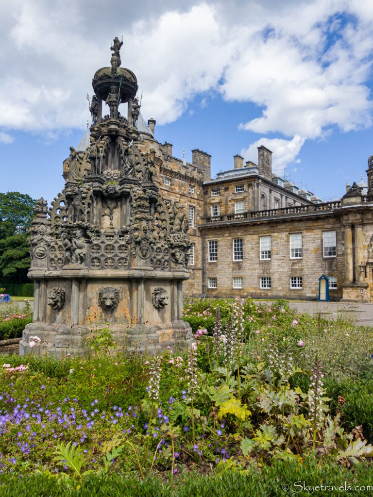 Holyrood Palace Fountain