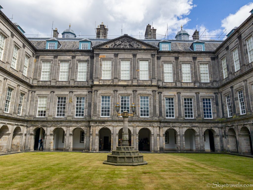 Holyrood Palace Quadrangle