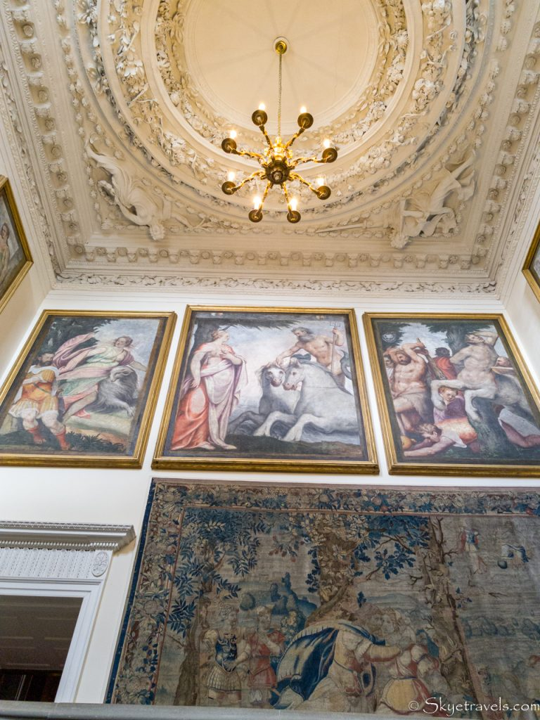 Holyrood Palace Great Staircase Tapestries