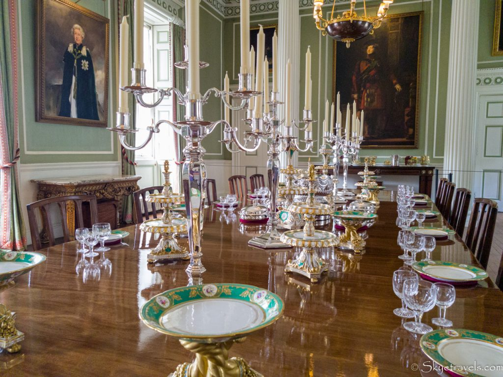 Holyrood Palace Royal Dining Room