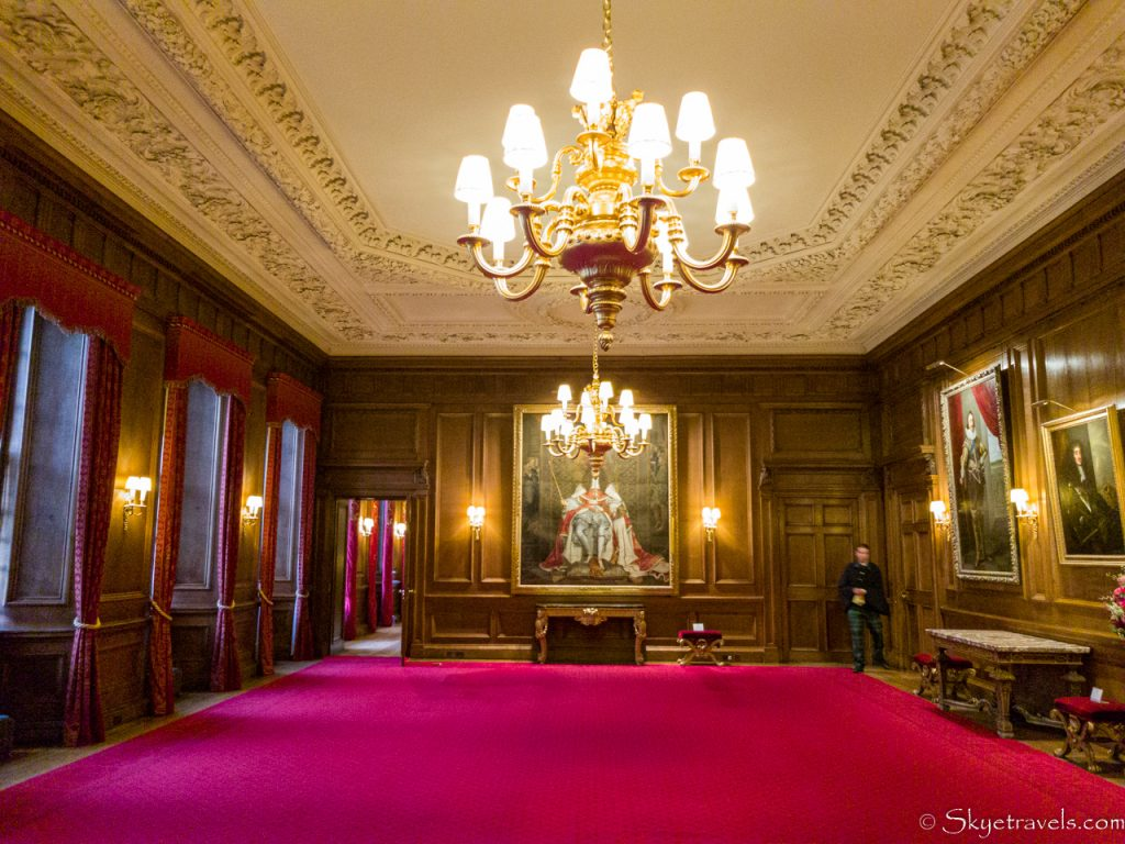 Holyrood Palace Thorne Room