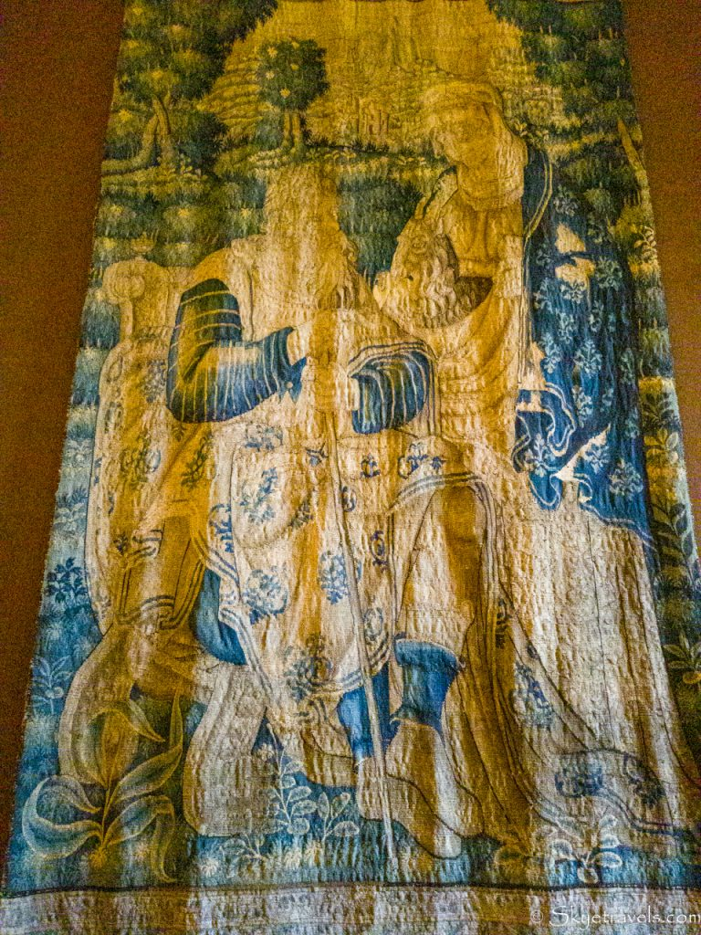 Holyrood Palace Privy Chambers Tapestry